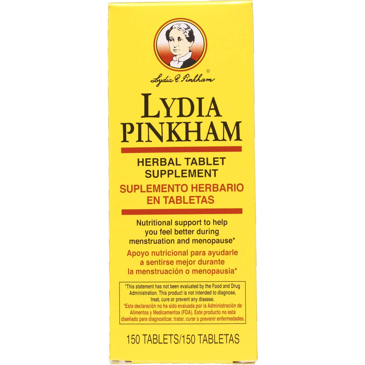 lydia pinkham herbal tablets 150 tablets