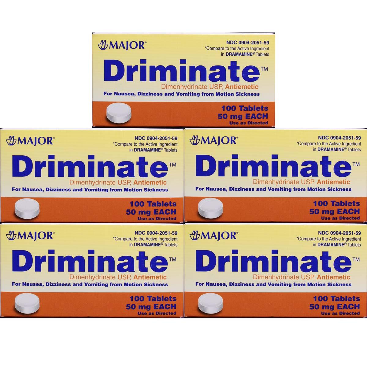 Dimenhydrinate 50 Mg Antiemetic