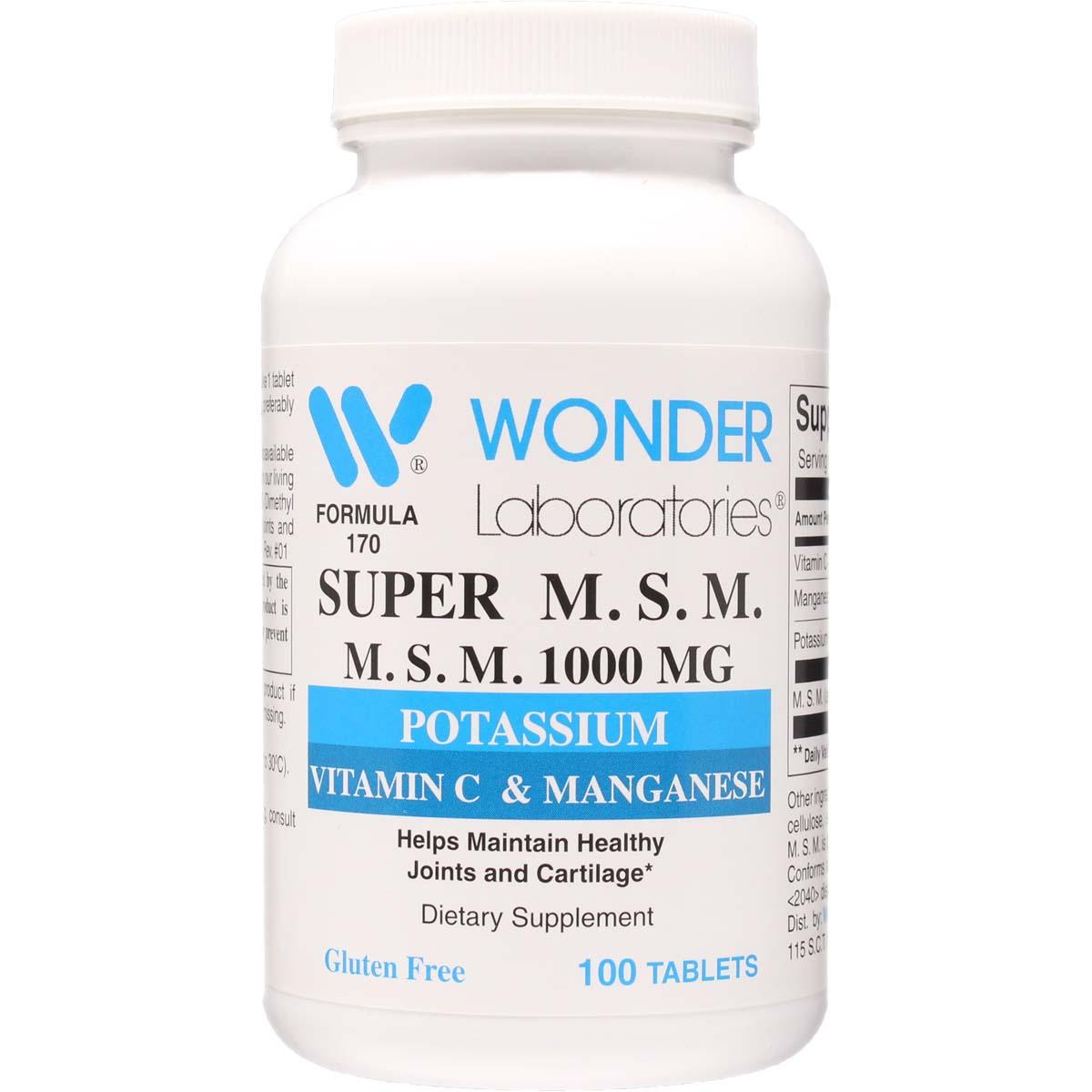 1000 mg potassium