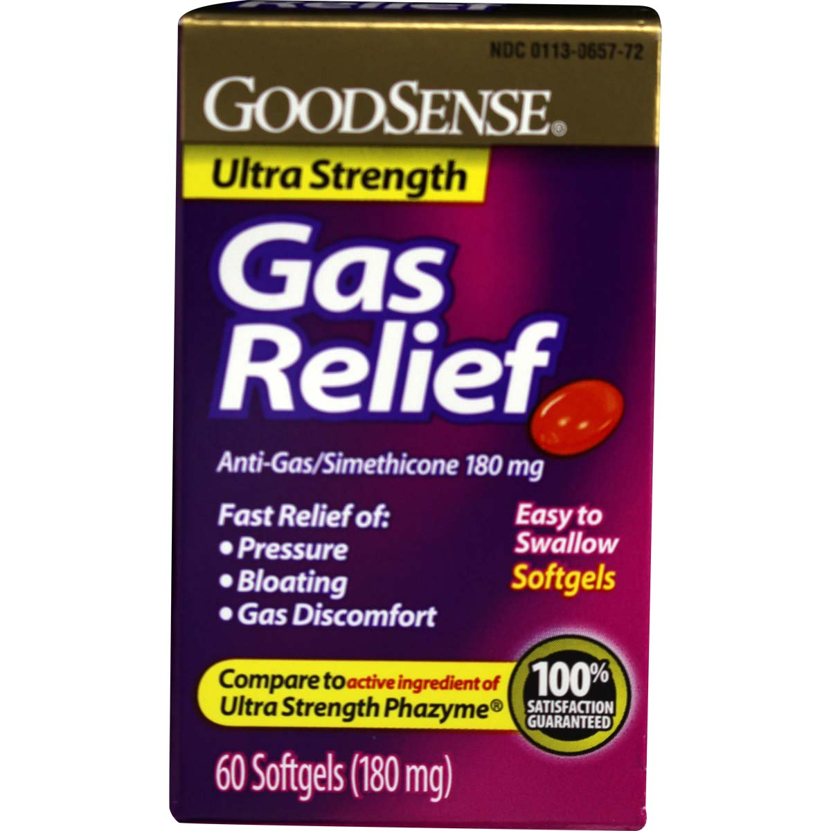 Ultra Strength Gas Relief