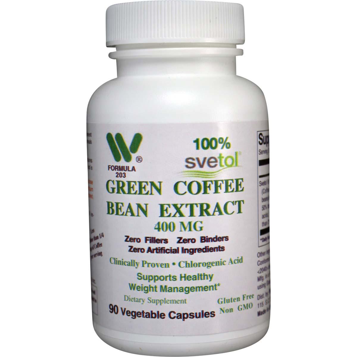 Svetol Green Coffee Bean 400 Mg Qty 90 Veg Caps Item 2031