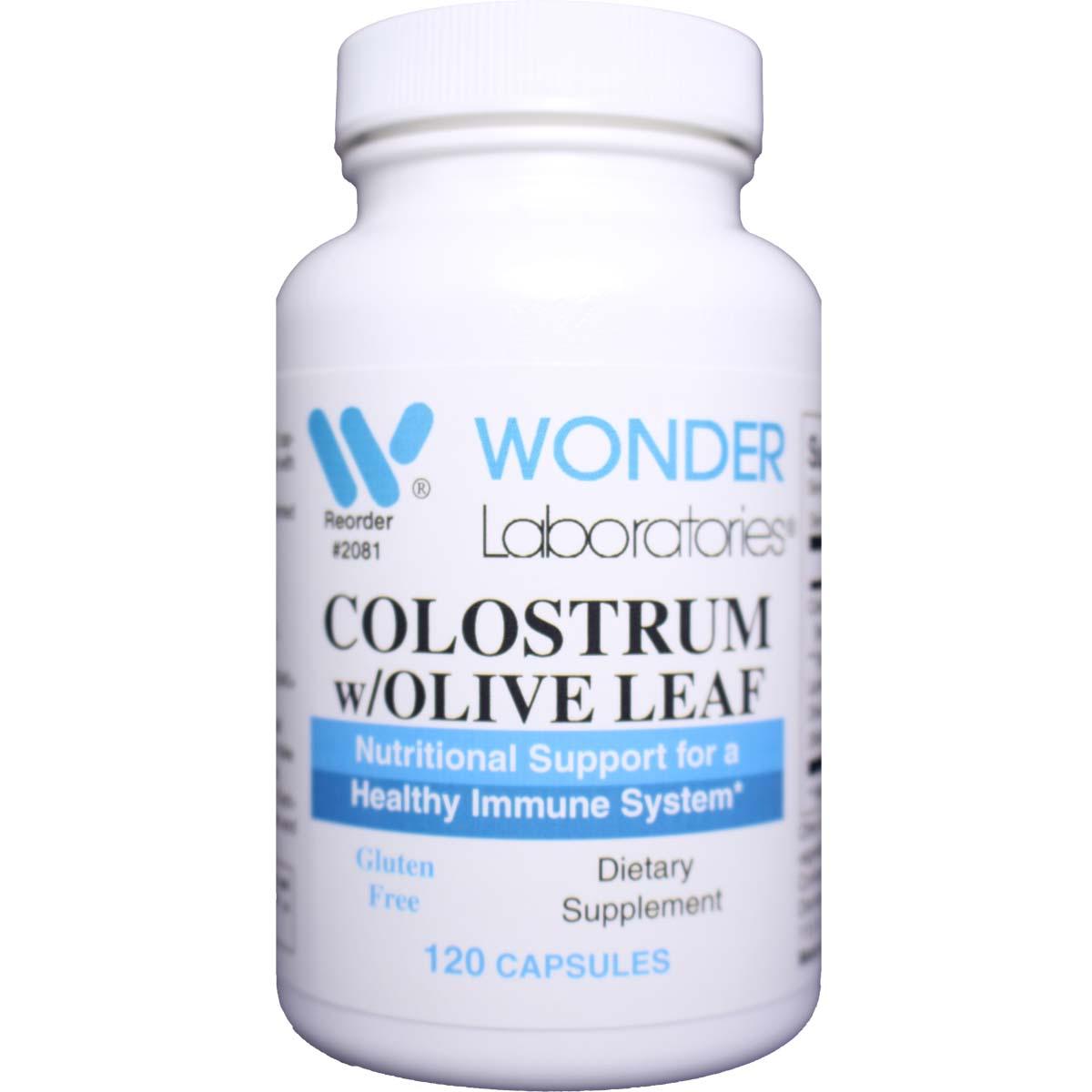 Colostrum w/Olive Leaf 120 Capsules - Item 2081