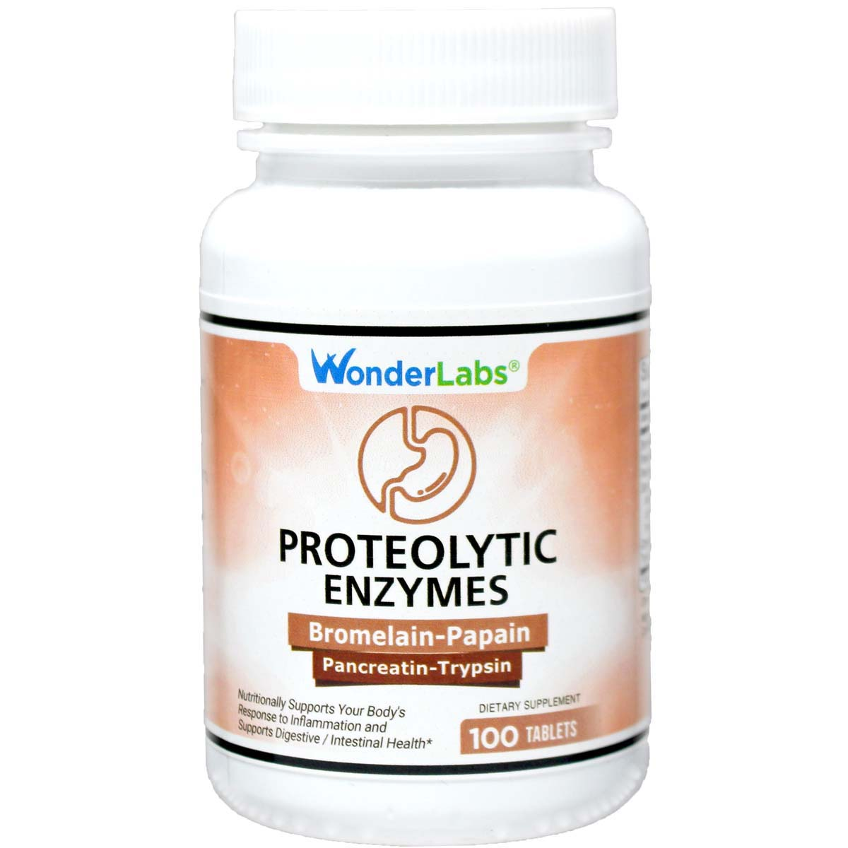 Proteolytic Enzymes 100 Tablets Item 2970