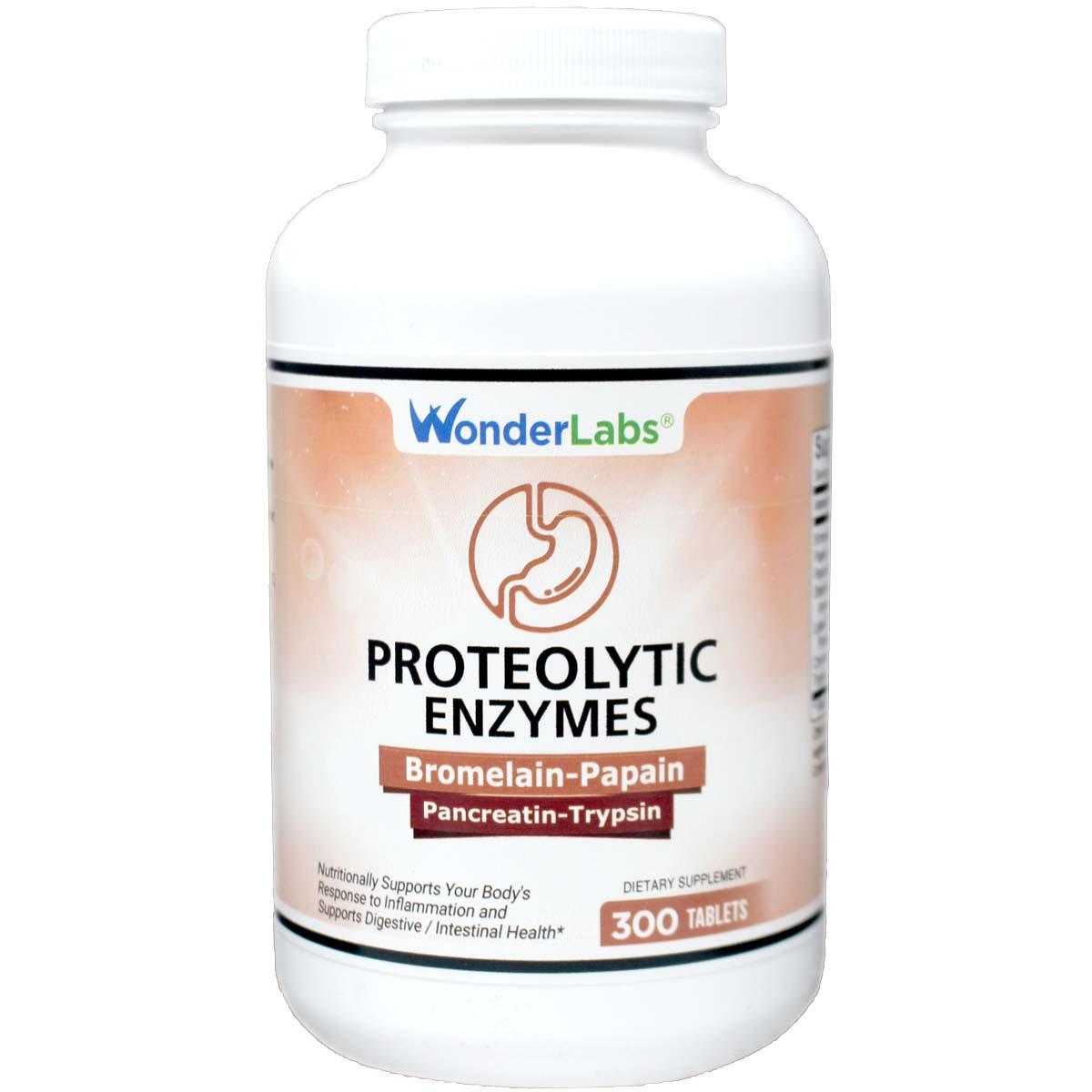 Proteolytic Enzymes | Bromelain Papain Pancreatin Trypsin