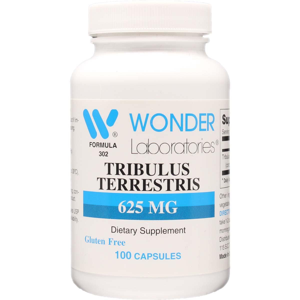 Tribulus Terrestris 625 Mg 100 Capsules Item 3021
