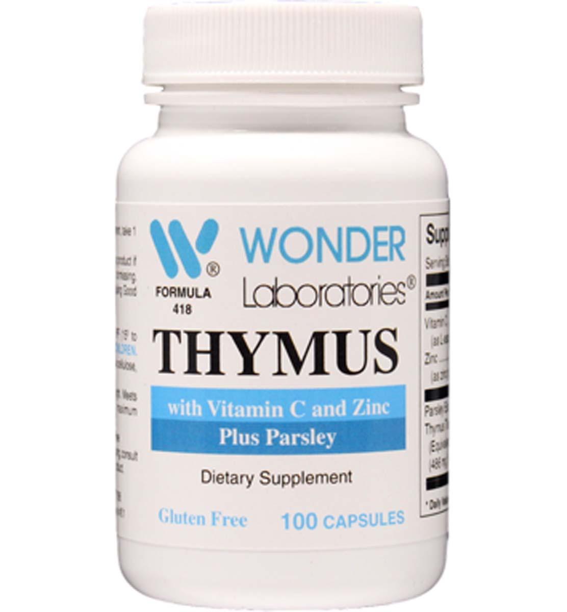Thymus supplements