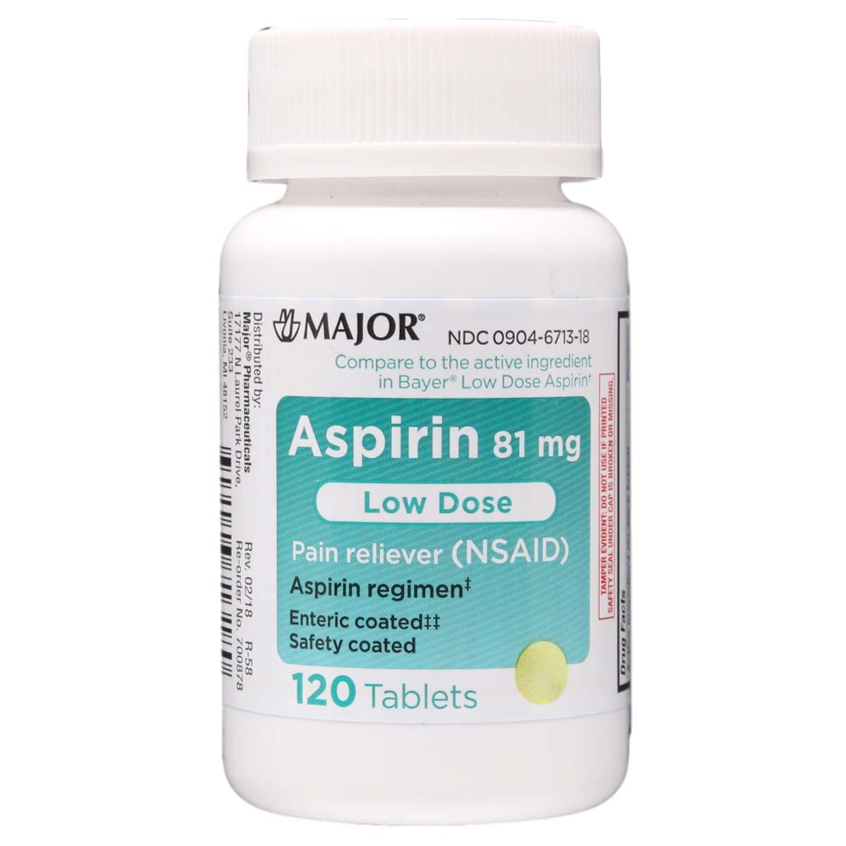 Bayer Aspirin 81 Mg Benefits