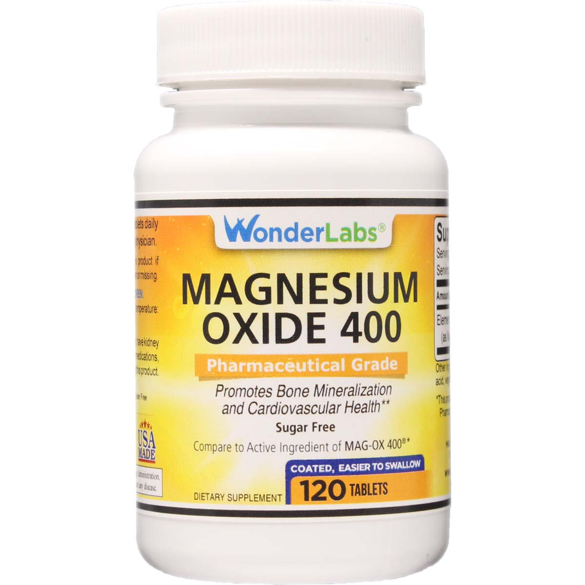 Magnesium Oxide 400 Mg Tab : Magnesium oxide compare to mag ox tablets item