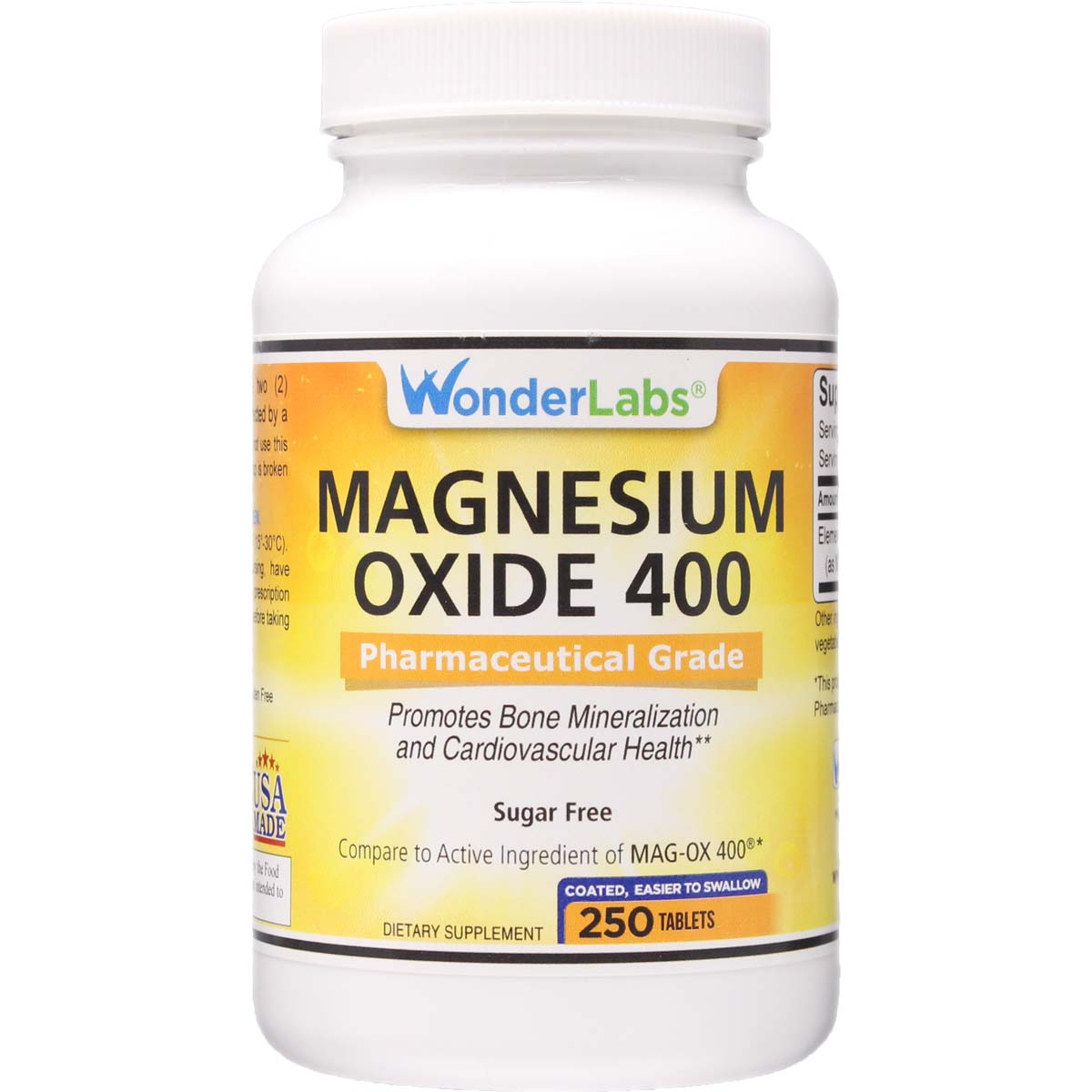 Magnesium Oxide 400** Compare to MAG-OX 400® 250 Tablets ...