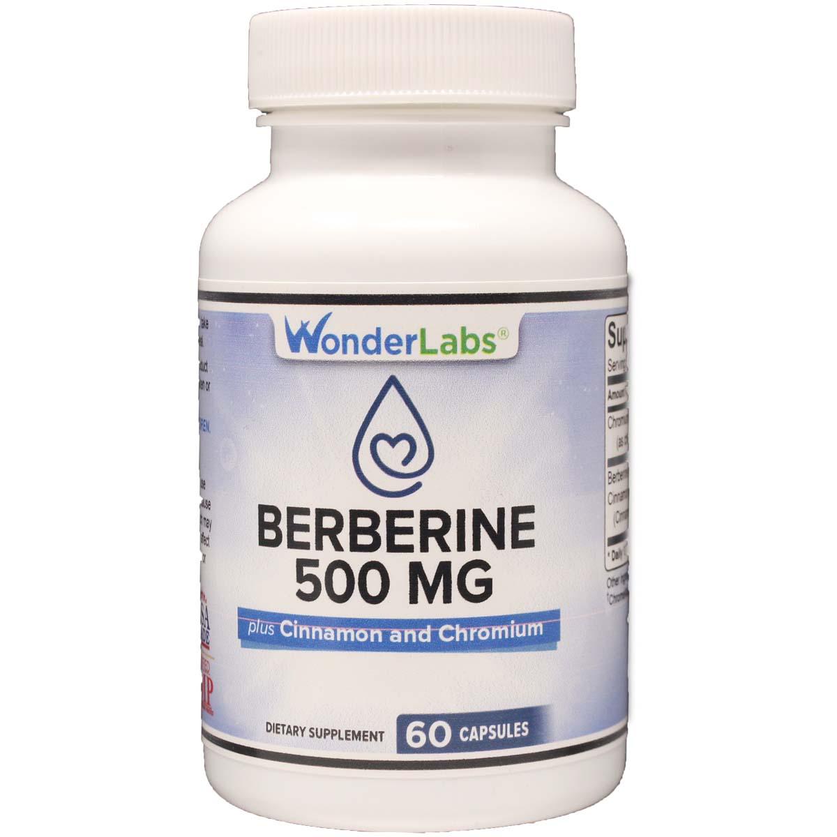 Berberine 500 mg + Cinnamon and Chromium
