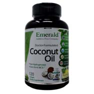 Extra Virgin Pure Natural Coconut Oil Softgels
