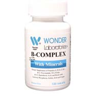 B-Complex with Minerals | Now With Folic Acid and Biotin