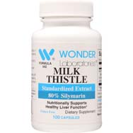 Milk Thistle 175 mg | Standardized Extract 80% Silymarin
