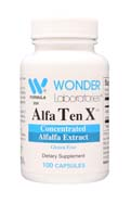 Alfa Ten X™ - Concentrated Alfalfa Extract