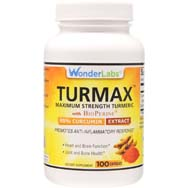 Turmax - Maximum Strength Turmeric w/ Standardized Curcumin and BioPerine