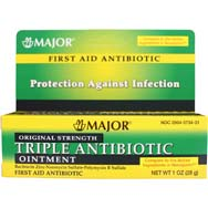 Triple Antibiotic First Aid Ointment - Original Strength