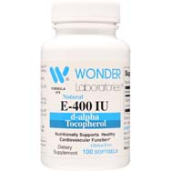Natural Vitamin E 400 IU | d-alpha Tocopherol