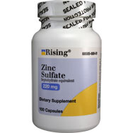 Zinc Sulfate - Heptahydrate Equivalent 220 mg