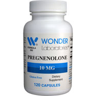 Pregnenolone 10 mg | Hormone Support