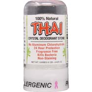 Thai Crystal Deodorant Stone - Hypoallergenic Unscented