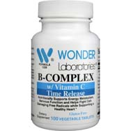 B-Complex with Vitamin C Time Release