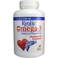 Kyolic® Omega-3 Odorless and Natural Fish Oil