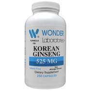 Korean Ginseng 525 mg