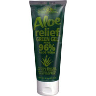 Aloe Relief Green Gel | Pure 96% Aloe Vera