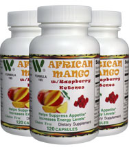 African Mango 3 Pack with Raspberry Ketones