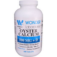 Calcium 500 + D Oyster Shell Calcium with D