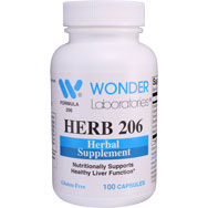 Herb 206 | Herbal Supplement for Healthy Liver Function