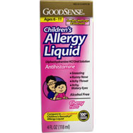 Children's Allergy Liquid - Antihistamine (Cherry Flavor)