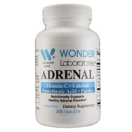 Adrenal w/ Vitamin C, Calcium, Pantothenic Acid and Parsley