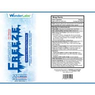 Wonder Freeze Pain Relieving Gel - 4% Menthol w/ ILEX