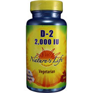 D-2 2000 IU | Vegetarian Form of Vitamin-D