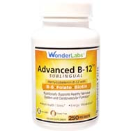 Sublingual B-12, B6, Folic Acid and Biotin Vegetarian/Vegan