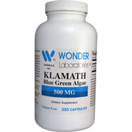 Klamath Blue Green Algae 500 mg