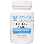 Lutein 6 mg | Natural Carotenoid for Vision Health