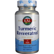 Turmeric Resveratrol - 95% Curcumins from Japanese Knotweed