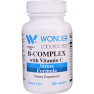 B-Complex with Vitamin C | Stress Formula