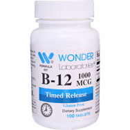 Vitamin B-12 1000 mcg | Timed Release