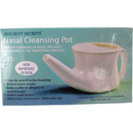 Neti Pot Nasal Cleansing Pot by Ancient Secrets