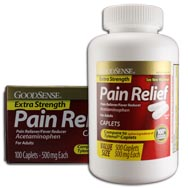 Extra Strength Pain Relief 500 mg (Free 100 ct Box Offer)