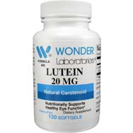 Lutein 20 mg | Natural Carotenoid for Vision Support