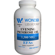 Evening Primrose Oil 1300 mg | Essential Fatty Acids