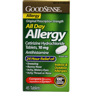 All Day Allergy | Indoor and Outdoor Allergies