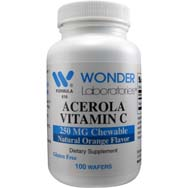 Acerola  Vitamin C 250 mg Chewable
