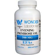 Evening Primrose Oil 500 mg Cold Pressed