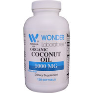 Coconut Oil 1000 mg Organic