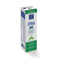 Triple Action Cool Mint Gel Toothpaste | Fluoride Free